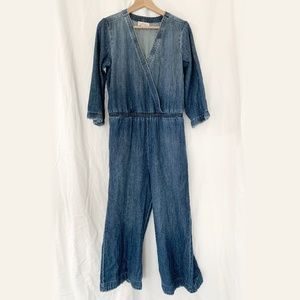 Anthropologie Cloth and Stone Jumpsuit S